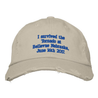 Bellevue Nebraska Embroidered Hat