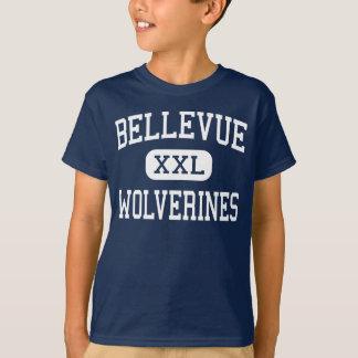 Bellevue - Wolverines - High - Bellevue Washington T-Shirt