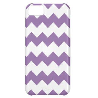 Bellflower Purple Modern Zig Zag iPhone 5 Case