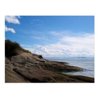 Bellingham Bay Rock Formations Postcard