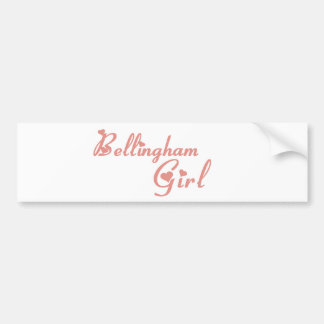 Bellingham Girl tee shirts Bumper Stickers