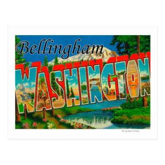 Bellingham, Washington - grandes scènes de lettre Cartes Postales