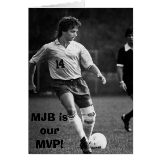 bellino_mike_actn, MJB is our MVP! Greeting Card