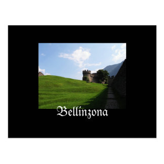 Bellinzona Switzerland Postcard