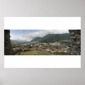 Bellinzona, Switzerland Poster