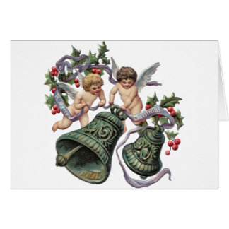 Bells and Angels Greeting Card