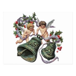 Bells and Angels Postcard