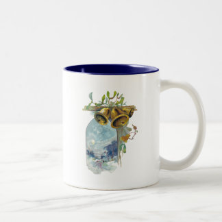 Bells and Winter Scene Coffee Mug
