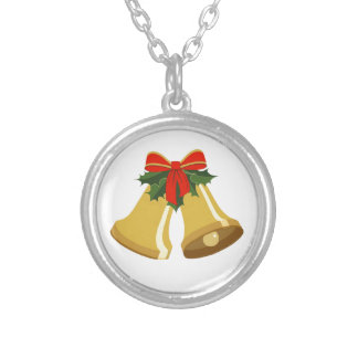 Bells are Ringing Silver Plated Necklace