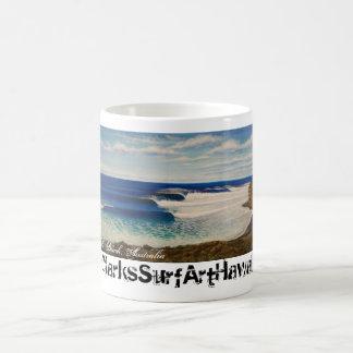 Bells Beach, Australia Basic White Mug