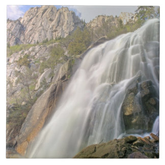 Bells Canyon Waterfall, Lone Peak Wilderness, Tile
