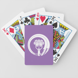 Bells circle bicycle playing cards