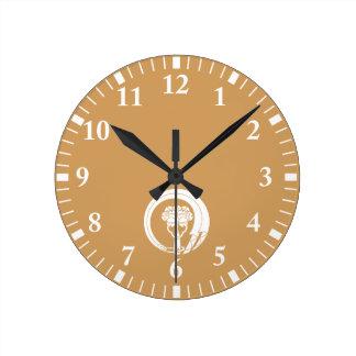 Bells circle wall clock