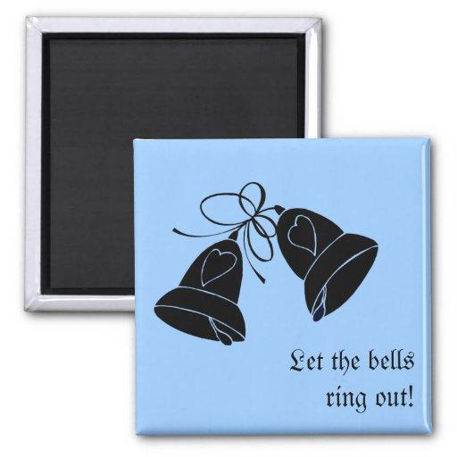 Bells de bonheur aimants
