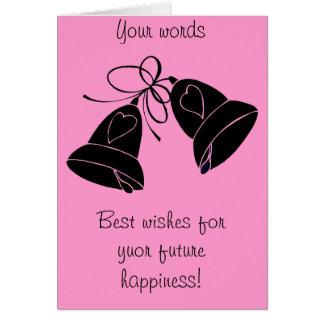 Bells de bonheur carte de vœux
