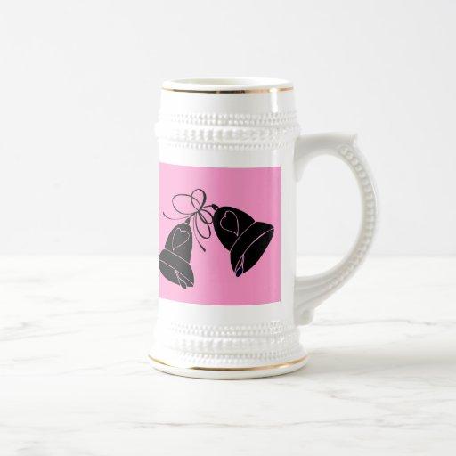 Bells de bonheur mugs à café