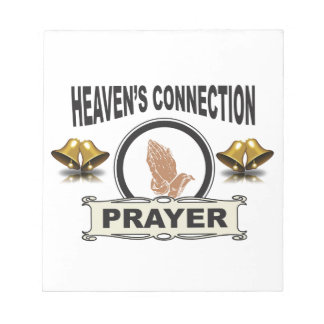 Bells heavens connection notepad