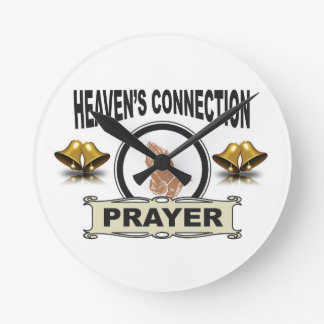 Bells heavens connection round clock
