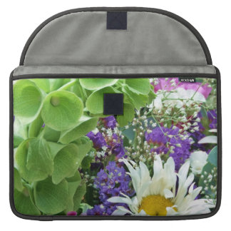 Bells of Ireland Flower Bouquet Macbook Sleeve Sleeves For MacBooks