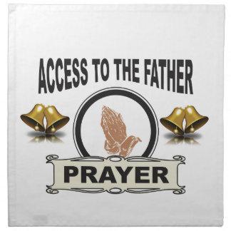 bells of prayer access napkin
