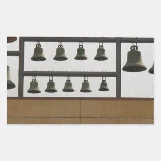 Bells Sticker Rectangulaire