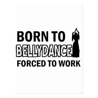 Belly Dance designs Postcard