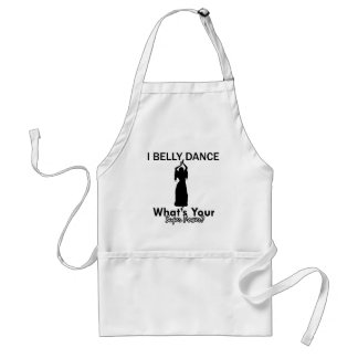 Belly Dance designs Standard Apron