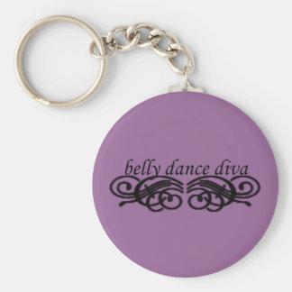 Belly Dance Diva Keychain