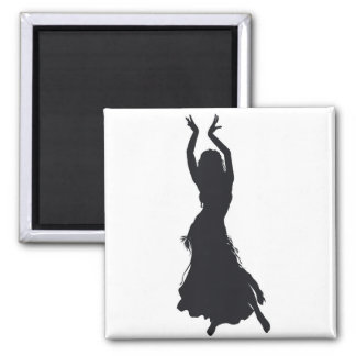 belly dance magnet