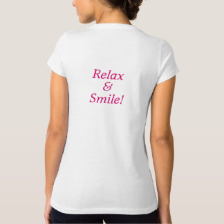 Belly Dance Somerville - Relax & Smile T-Shirt