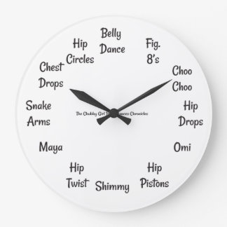 Belly Dance Time Clock