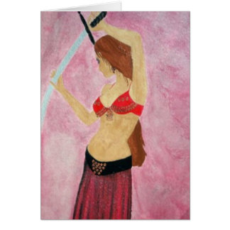 Belly Dancer Card
