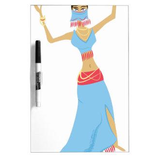 Belly Dancer Dry Erase Board