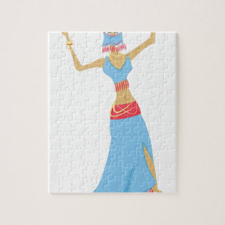 Belly Dancer Jigsaw Puzzle