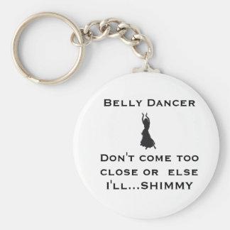 belly dancer keychain