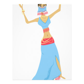 Belly Dancer Letterhead