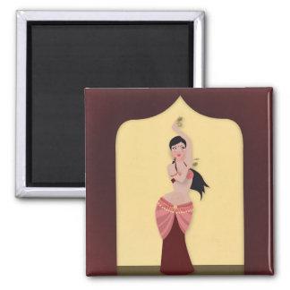 Belly Dancer Middle Eastern dancer Magnet
