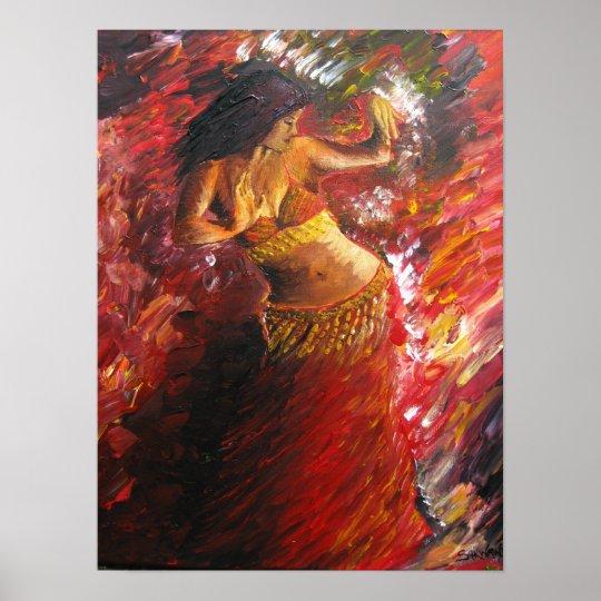 Belly Dancer Poster