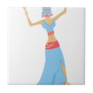 Belly Dancer Tiles