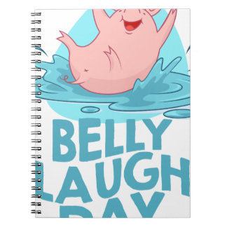 Belly Laugh Day - Appreciation Day Notebooks