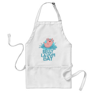Belly Laugh Day - Appreciation Day Standard Apron
