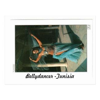 BELLYDANCER -TUNISIA POSTCARD