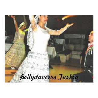 Bellydancers Turkey Postcard