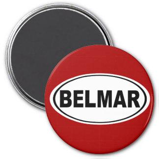 Belmar New Jersey 3 Inch Round Magnet