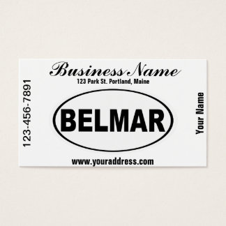 Belmar New Jersey Business Card