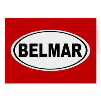 Belmar New Jersey Card