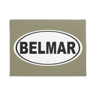 Belmar New Jersey Doormat