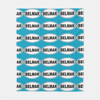 Belmar New Jersey Fleece Blanket
