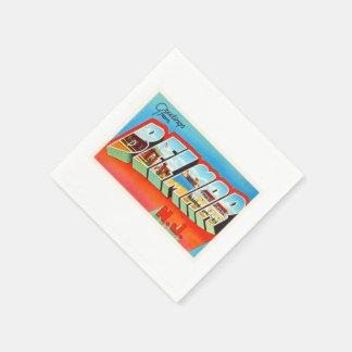 Belmar New Jersey NJ Old Vintage Travel Postcard- Disposable Napkins