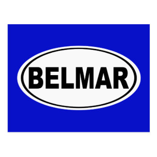 Belmar New Jersey Postcard